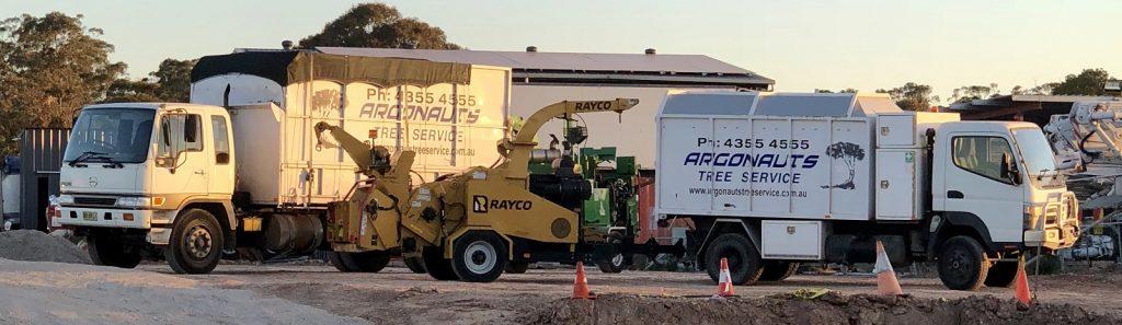 Trucks & Chipper